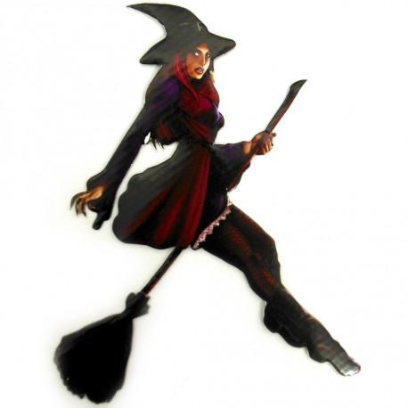 Bruxa decorativa - Pacote com 6 unidades