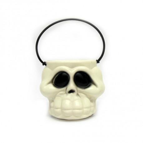 Cabeça de esqueleto kids - Artigos de halloween