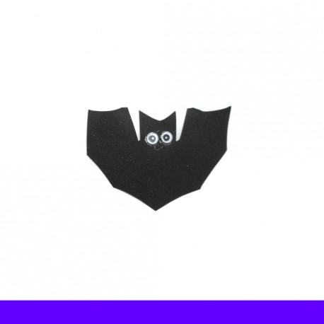 Enfeite de halloween morcego - Pacote com 5 unidades