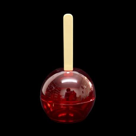 Lembrancinha maçã do amor - Pacote com 12 unidades