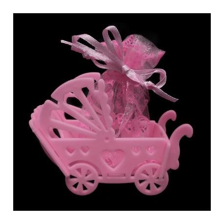 Lembrancinha carrinho de bebê - Pacote com 12 unidades