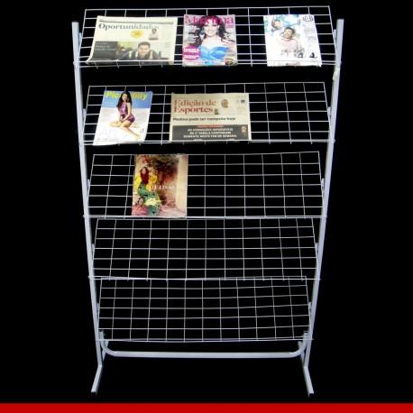 Porta revista simples - Aramados para lojas