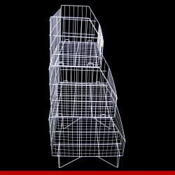 Container cesto triplo - Aramados para lojas
