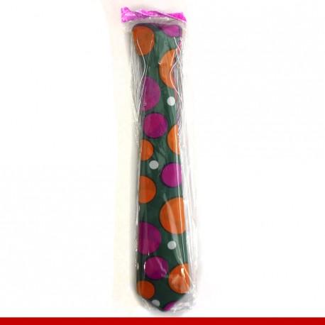 Gravada de plástico com tema de carnaval - Pacote com 12 unidades
