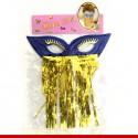 Máscara de carnaval odalisca - Artigos de carnaval