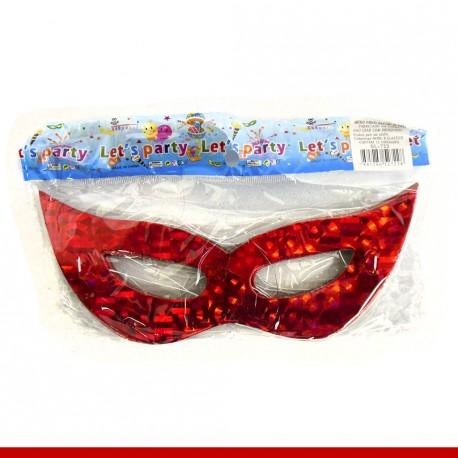 Máscara de carnaval em papel - 12 unidades