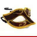 Máscara de carnaval decorada- Artigos de carnaval