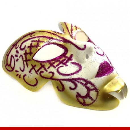 Máscara de carnaval ninfa - Artigos de carnaval