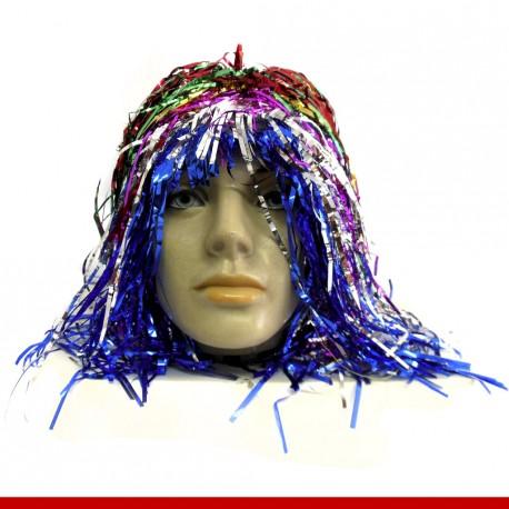 Peruca metalizada - Produtos para o carnaval