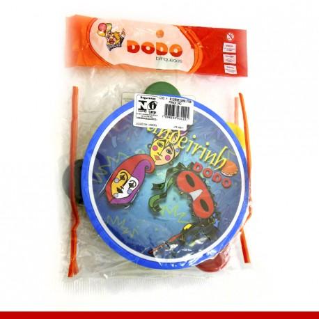Mini pandeiro com tema de carnaval - Produtos para o carnaval