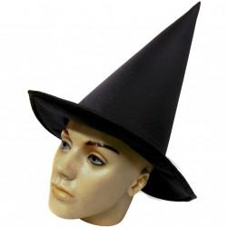 Chapéu de bruxa liso - Artigos de Halloween