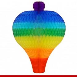 Balão carrapeta 3 tamanhos - Colmeia de papel