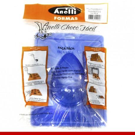 Forma de silicone para ovo de páscoa 350g - Produtos para a páscoa