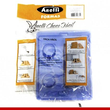 Forma de silicone mini pão de mel 15gr - Produtos para a páscoa
