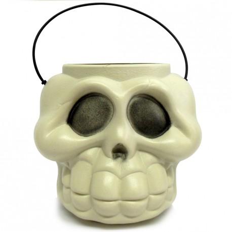 Cabeça de Esqueleto - Artigos para o halloween