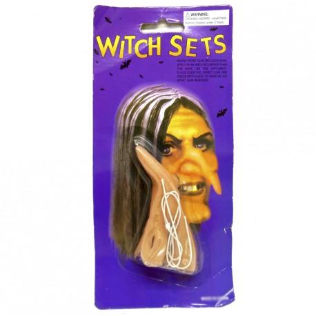 Nariz de bruxa - Artigos de Halloween