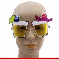Óculos shots de tequila - Produtos de carnaval
