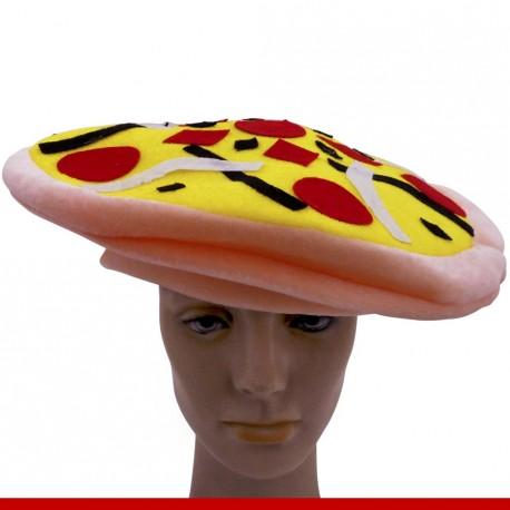 Chapéu pizza - Artigos de carnaval