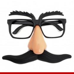Óculos bigode português - Produtos de carnaval
