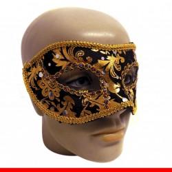 Máscara de carnaval estampada - 1 peça