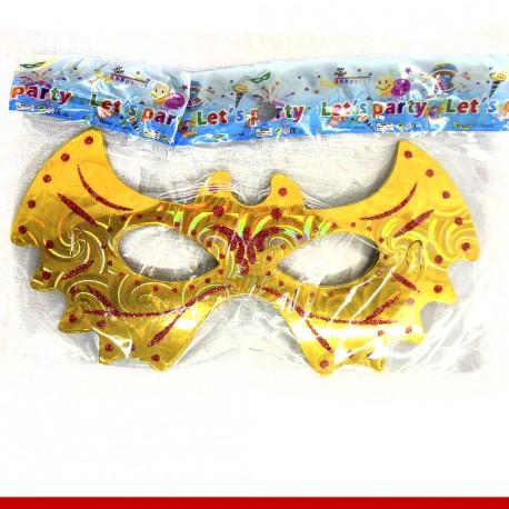 Máscara de carnaval morcego - 06 unidades
