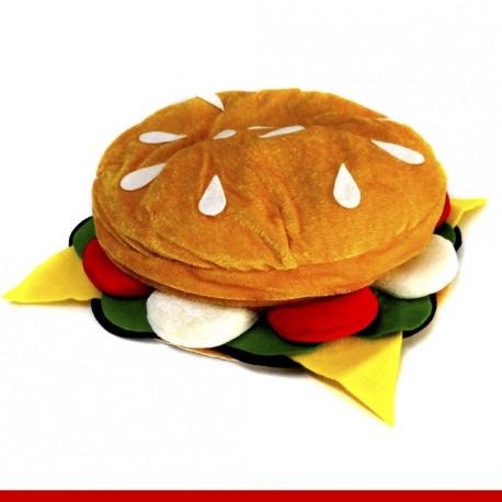 Chapéu hamburger - Artigos de carnaval