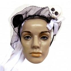 Tiara noiva cadáver - Artigo de halloween