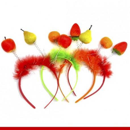 Tiara frutas - 12 peça
