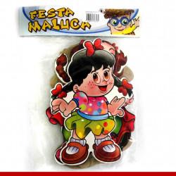 Bonecos caipiras cartonados para decoração - 06 unidades - Decoração para festa junina