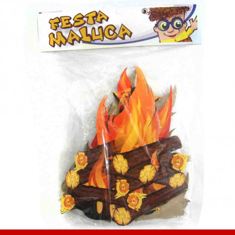 Mini painel fogueira - 06 unidades