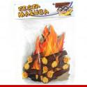 Mini painel fogueira - 06 unidades - Decoração de festa junina