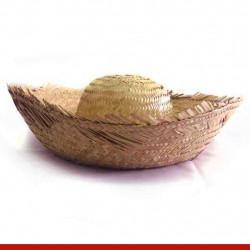 Chapéu de palha grande - Artigos de festa junina