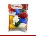 Peixinho Plástico para pescaria junina - 10 unidades