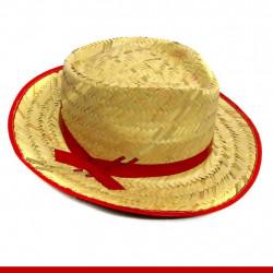 Chapéu de palha com fita - Produtos para festa junina