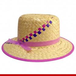 Chapéu de palha mocinha - Produtos para festa junina