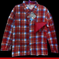 Camisa caipira para festa junina adulto - Roupas para Festa junina