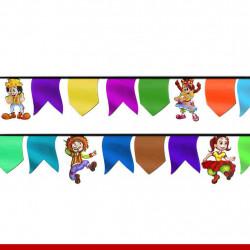 Enfeite para bandeirinhas juninas - 08 unidades - Decoração para festa junina