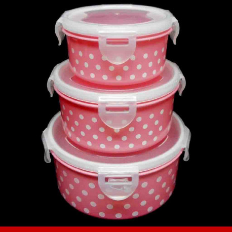 Kit tupperware redonda - Produtos para casa