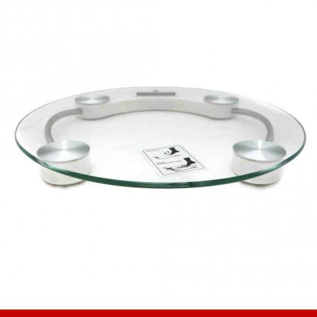 Balança Digital em vidro 6mm para banheiro - 1 unidade
