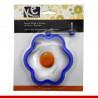 Forma floral para fritura de ovo - 1 unidade