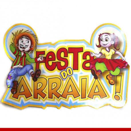 Painel festa do arraiá - 1 unidade - Decoração de festa junina