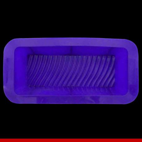 Forma de bolo retangular em silicone - Utilidades Domésticas