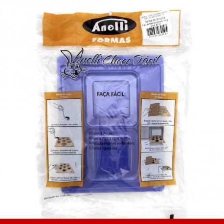 Forma de silicone pão de mel 43gr - Artigos de páscoa