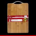 Tábua de bambu com suporte de metal - 1 peça