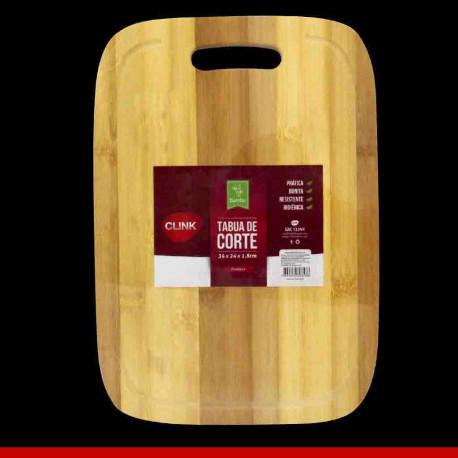 Tábua de corte em bambu - 1 peça