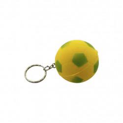 Chaveiro bola Brasil - 12 unidades