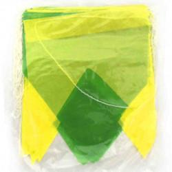 Bandeirola Brasil de papel - 10 metros