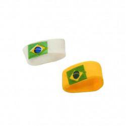 Anel brasil de silicone - artigo do Brasil