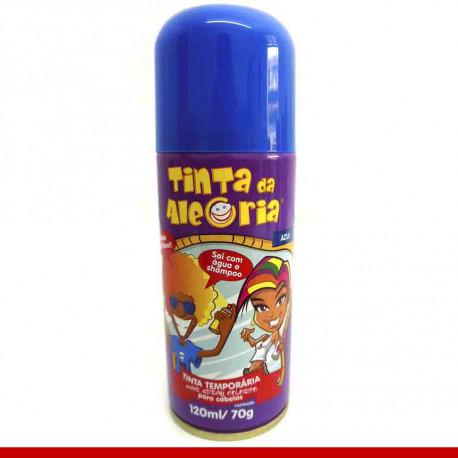 Tinta Spray para cabelo, várias cores - artigos para o carnaval