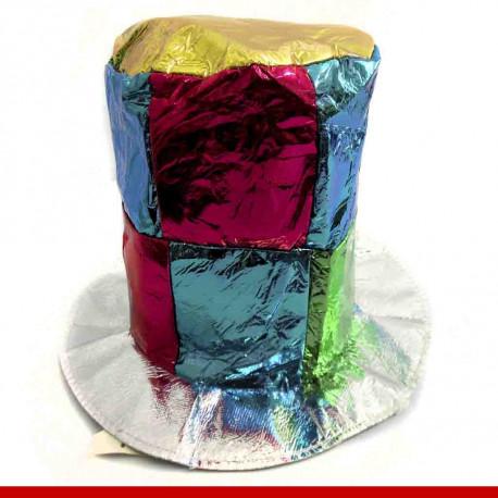 Cartola cubos brilhantes - Produtos de carnaval